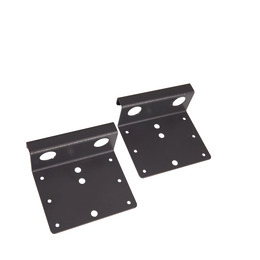 Restraint pole storage holder set for 2 restraint poles