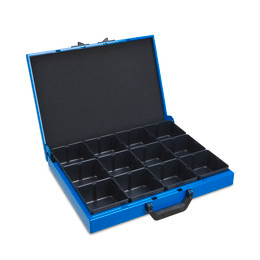 Metal case KM 321 w. IBS H63 12 pieces.