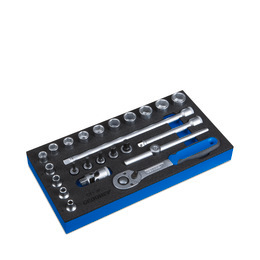 Gedore WE 1/3 Socket wrench assortment