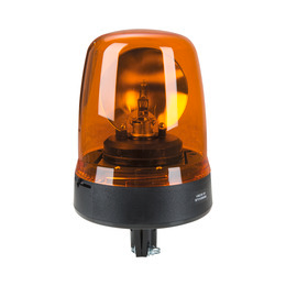Warning halogen beacon yellow 12 V