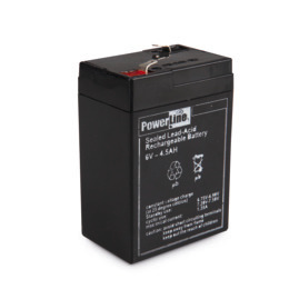 Replacement rechargeable battery for the rechargeable battery operated portable lamp